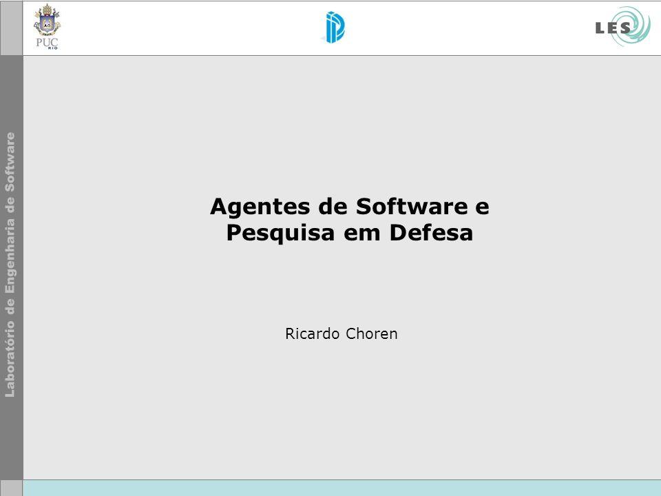 Agentes de Software e Pesquisa em Defesa