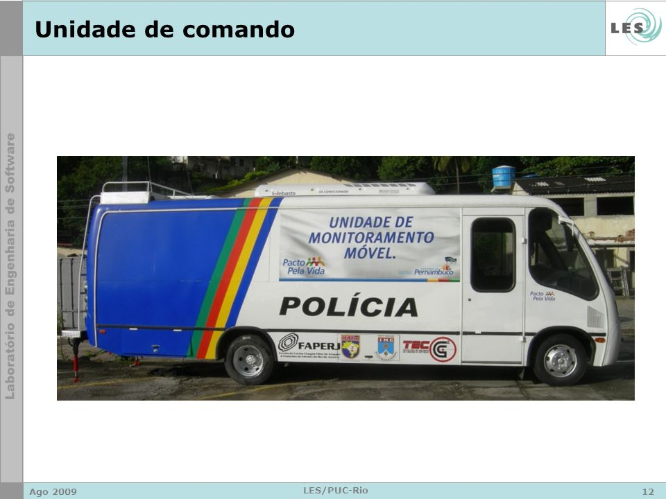 Unidade de comando Ago 2009 LES/PUC-Rio