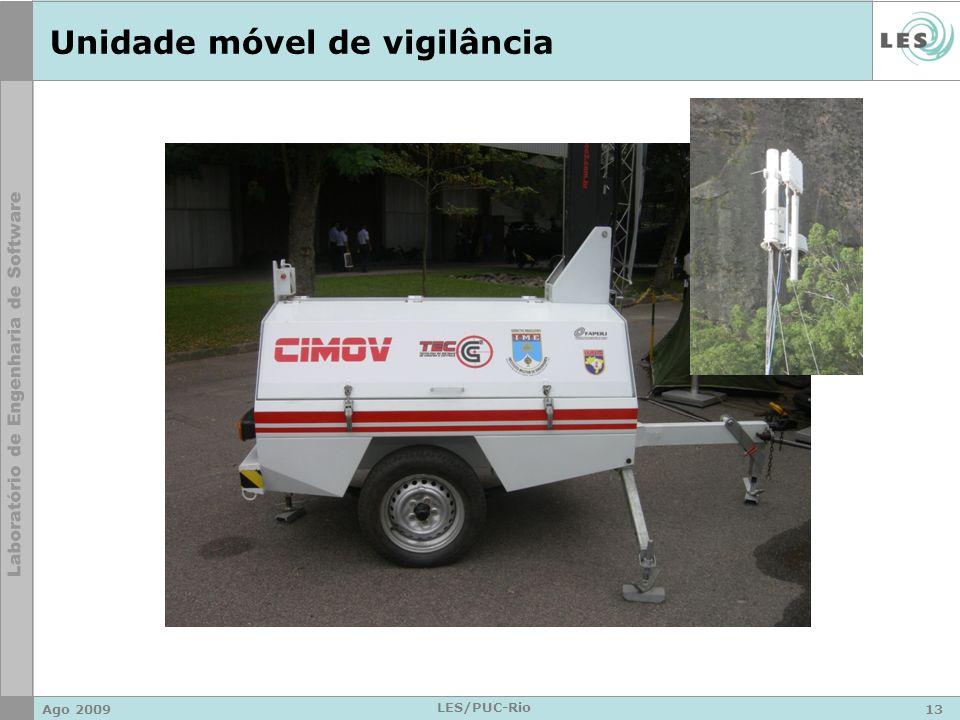 Unidade móvel de vigilância