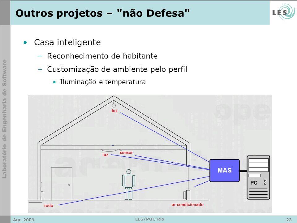 Outros projetos – não Defesa