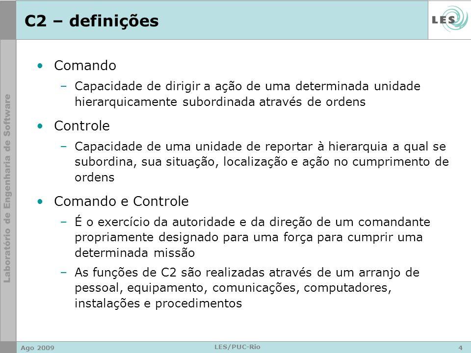 C2 – definições Comando Controle Comando e Controle