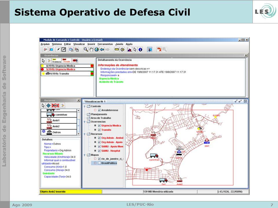 Sistema Operativo de Defesa Civil