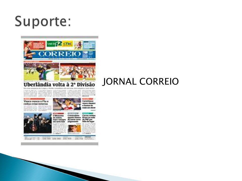 Suporte: JORNAL CORREIO