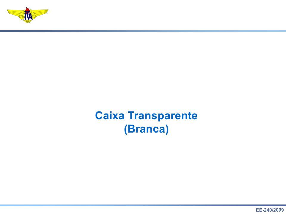 Caixa Transparente (Branca)
