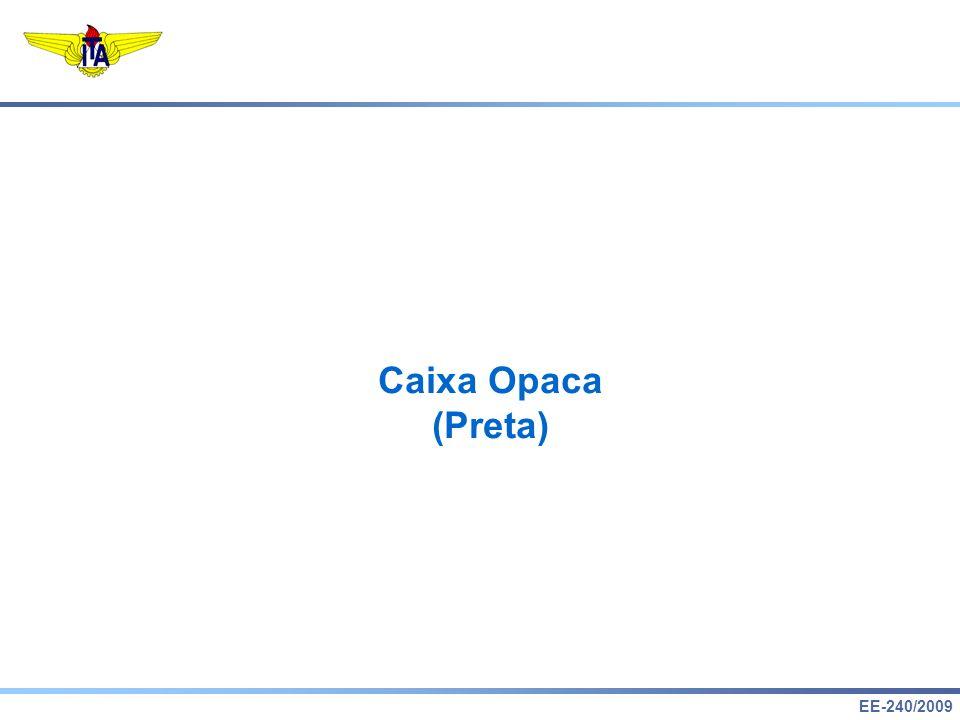Caixa Opaca (Preta)