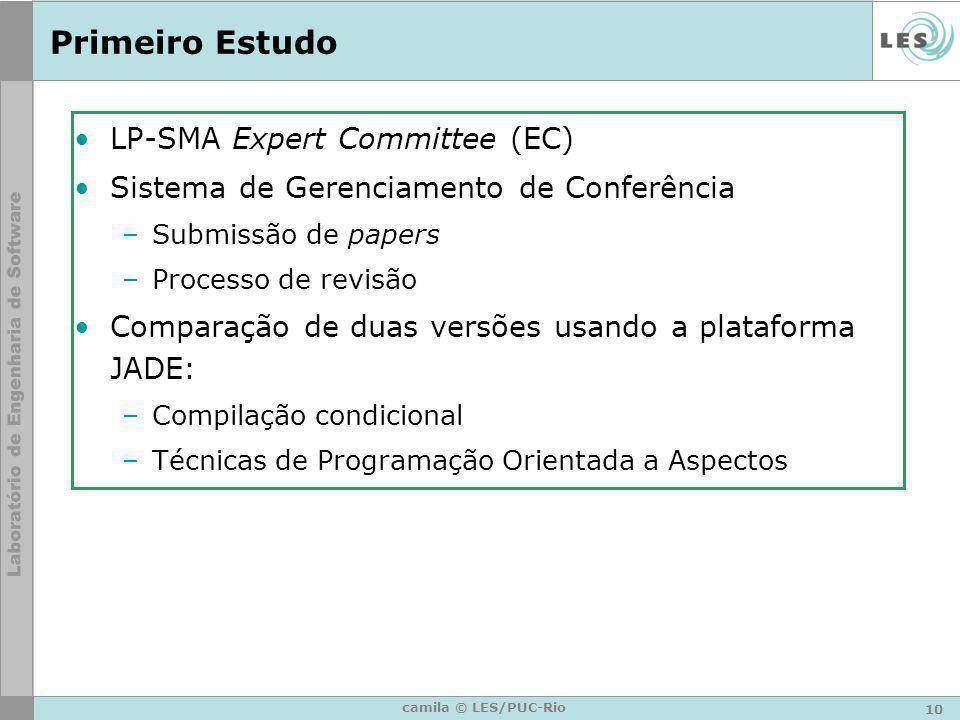 Primeiro Estudo LP-SMA Expert Committee (EC)