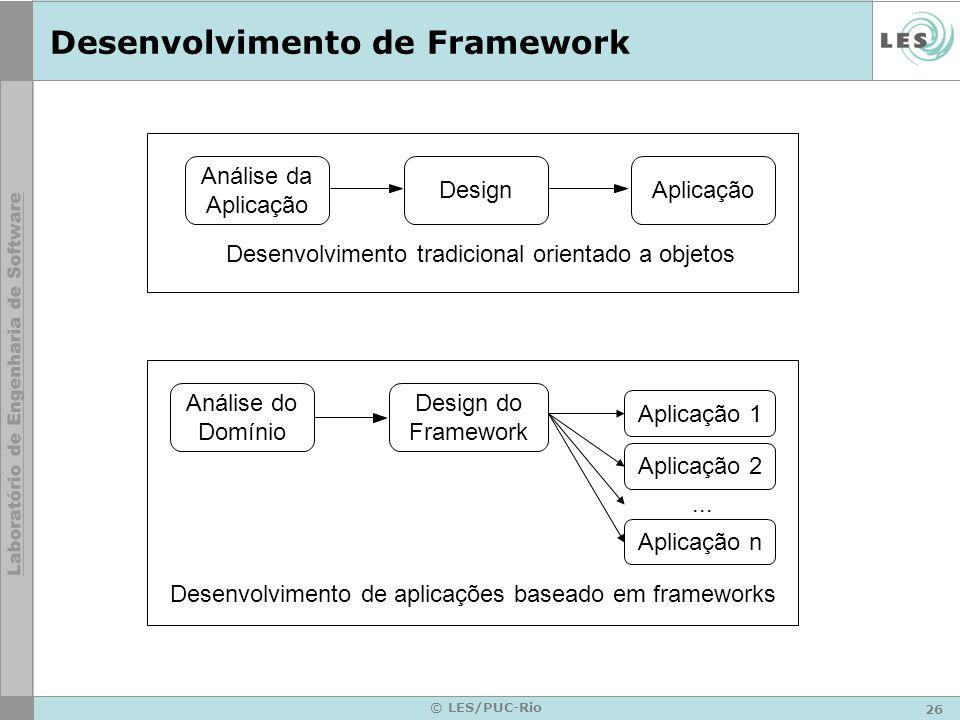 Desenvolvimento de Framework