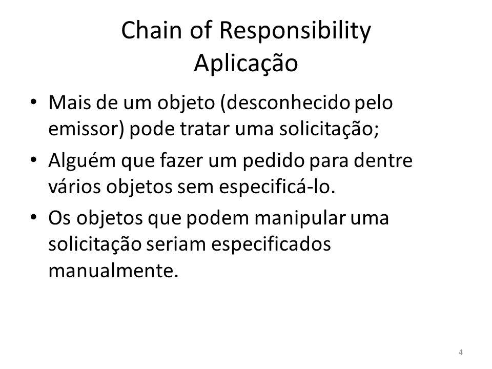 Chain of Responsibility Aplicação