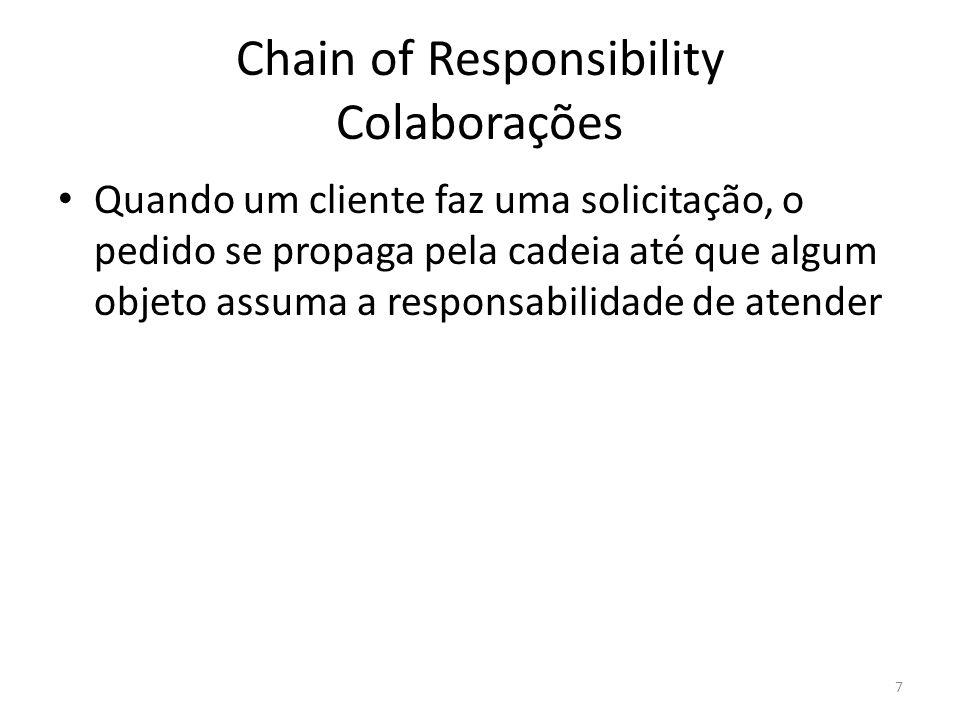 Chain of Responsibility Colaborações