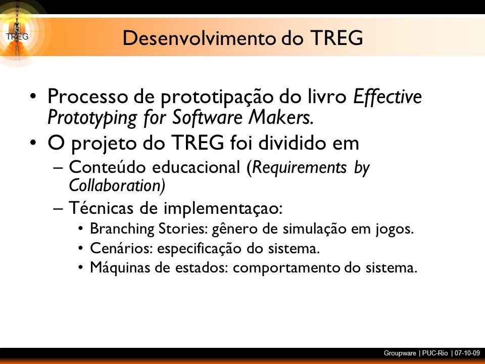 Desenvolvimento do TREG
