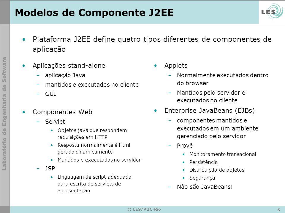 Modelos de Componente J2EE