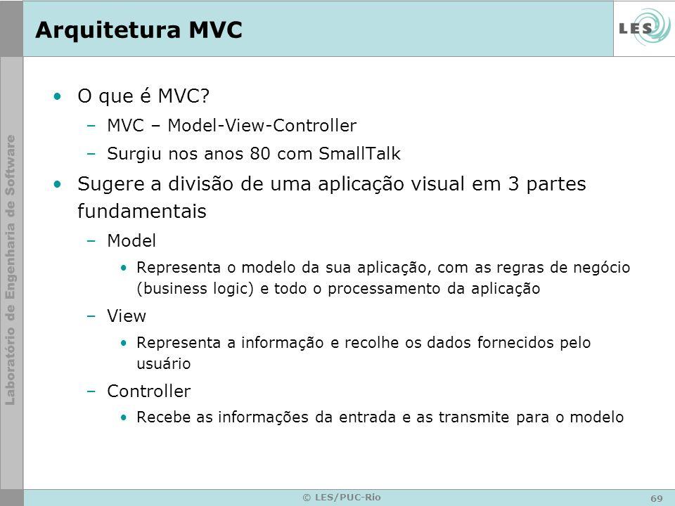 Arquitetura MVC O que é MVC