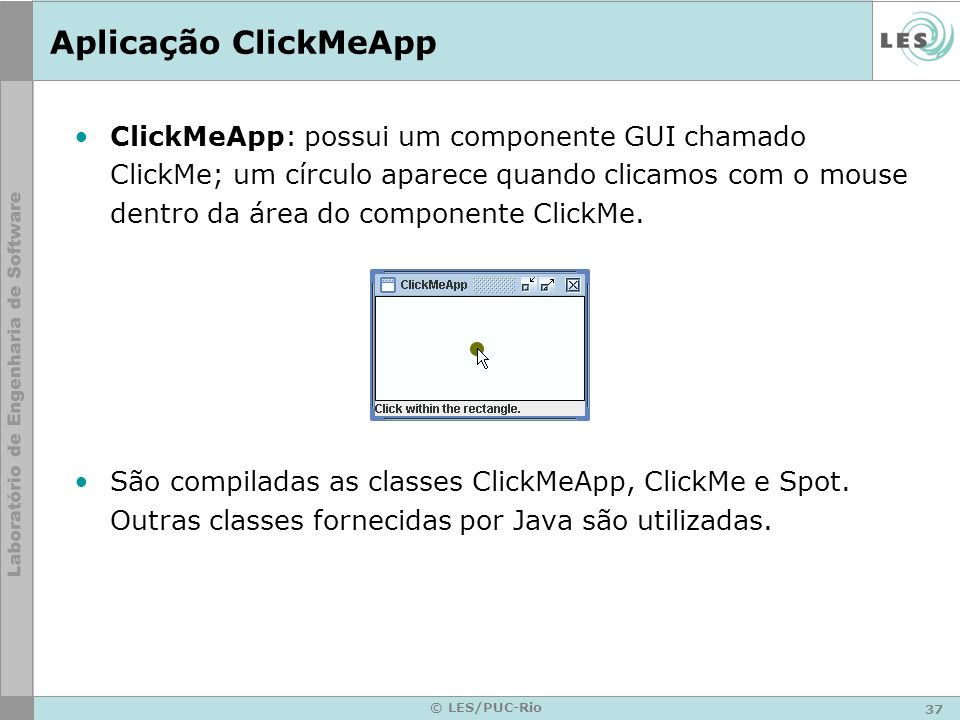 Aplicação ClickMeApp