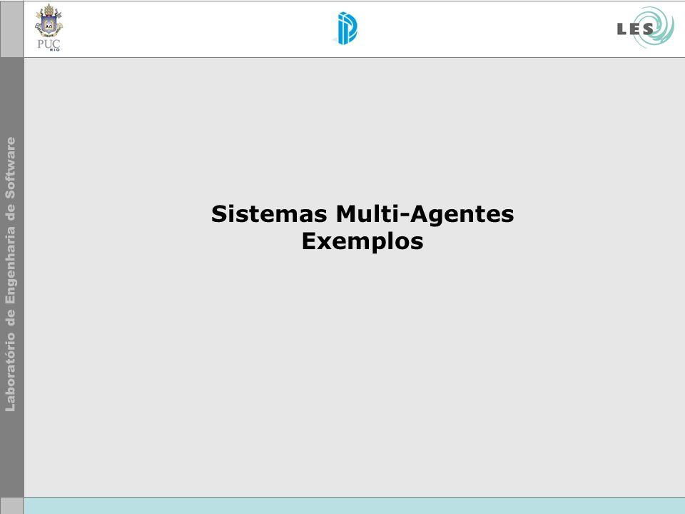 Sistemas Multi-Agentes Exemplos
