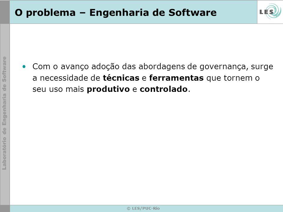 O problema – Engenharia de Software