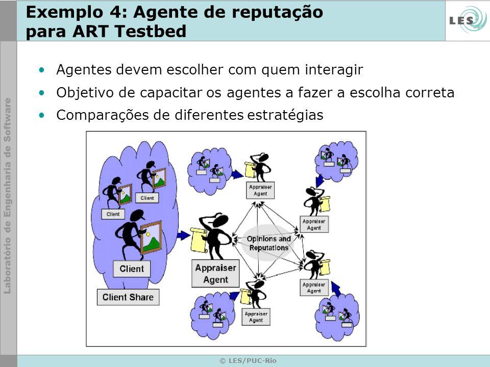 Exemplo 4: Agente de reputação para ART Testbed