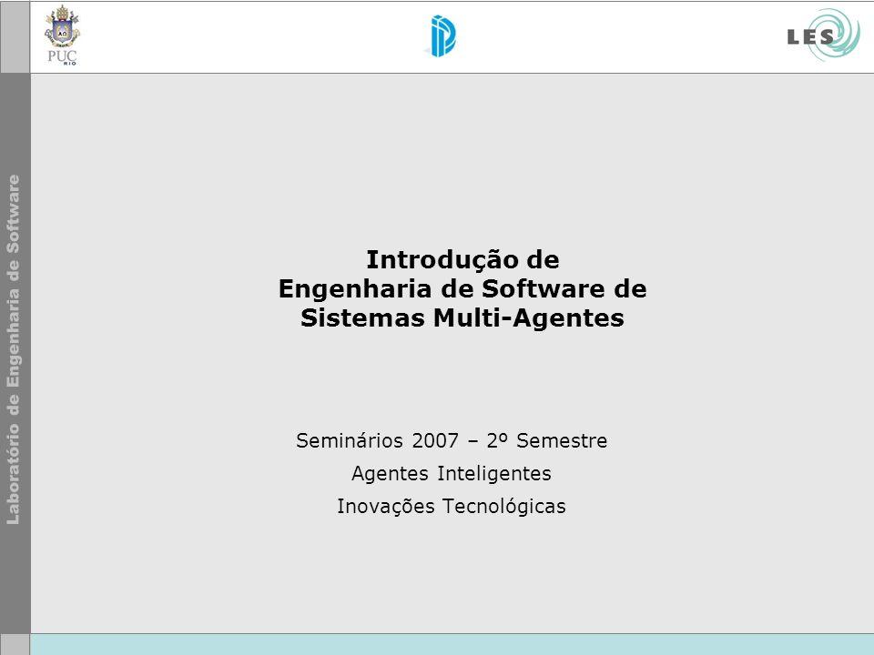 Introdução de Engenharia de Software de Sistemas Multi-Agentes