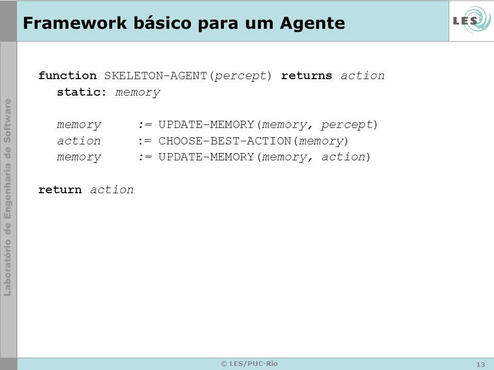 Framework básico para um Agente