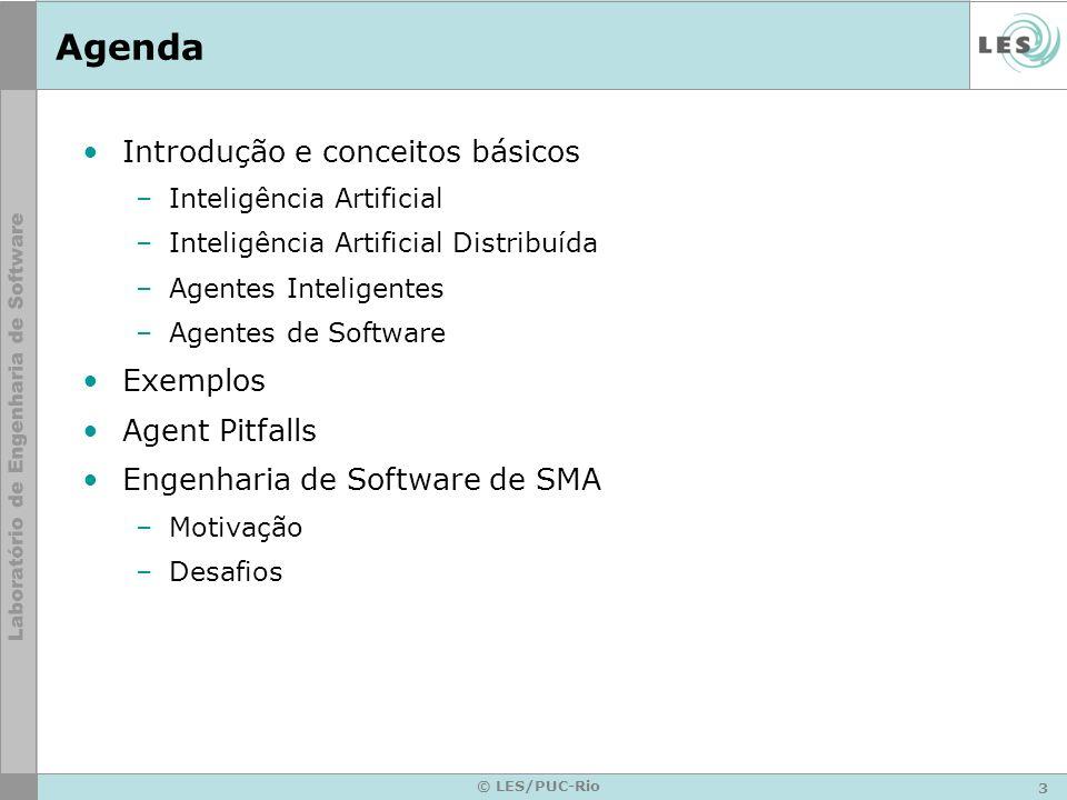 Agenda Introdução e conceitos básicos Exemplos Agent Pitfalls