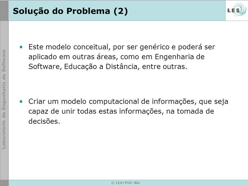 Solução do Problema (2)