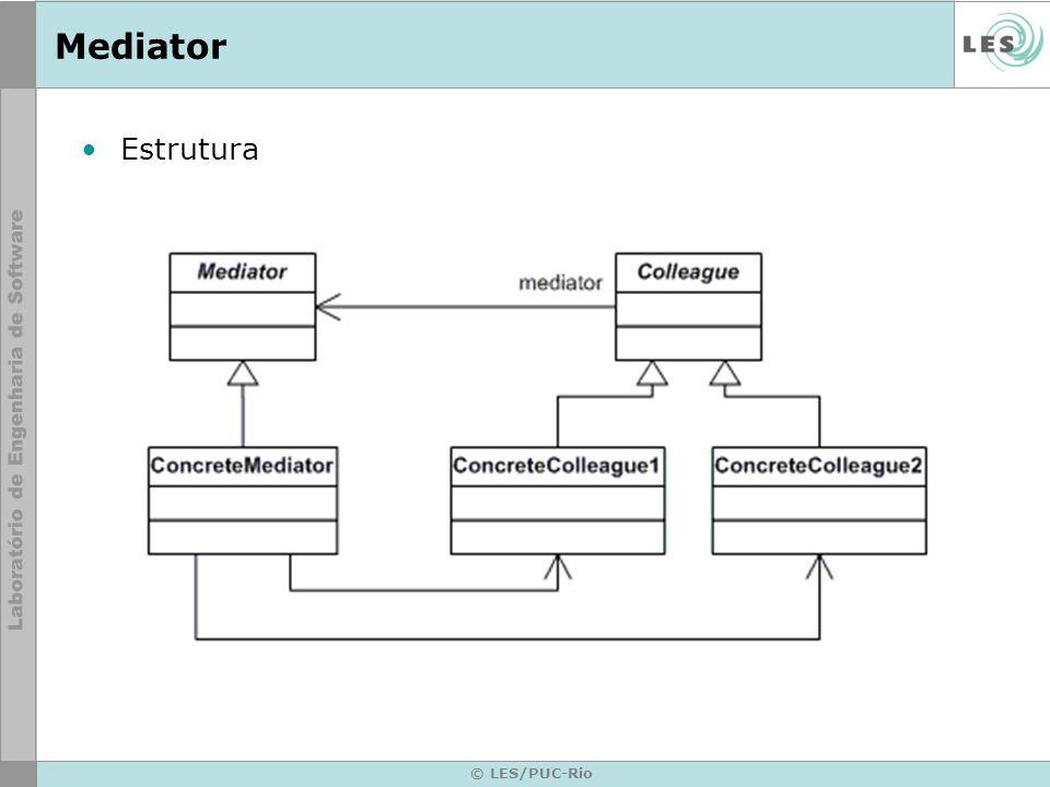 Mediator Estrutura © LES/PUC-Rio