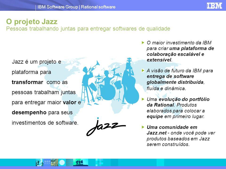 O projeto Jazz Pessoas trabalhando juntas para entregar softwares de qualidade