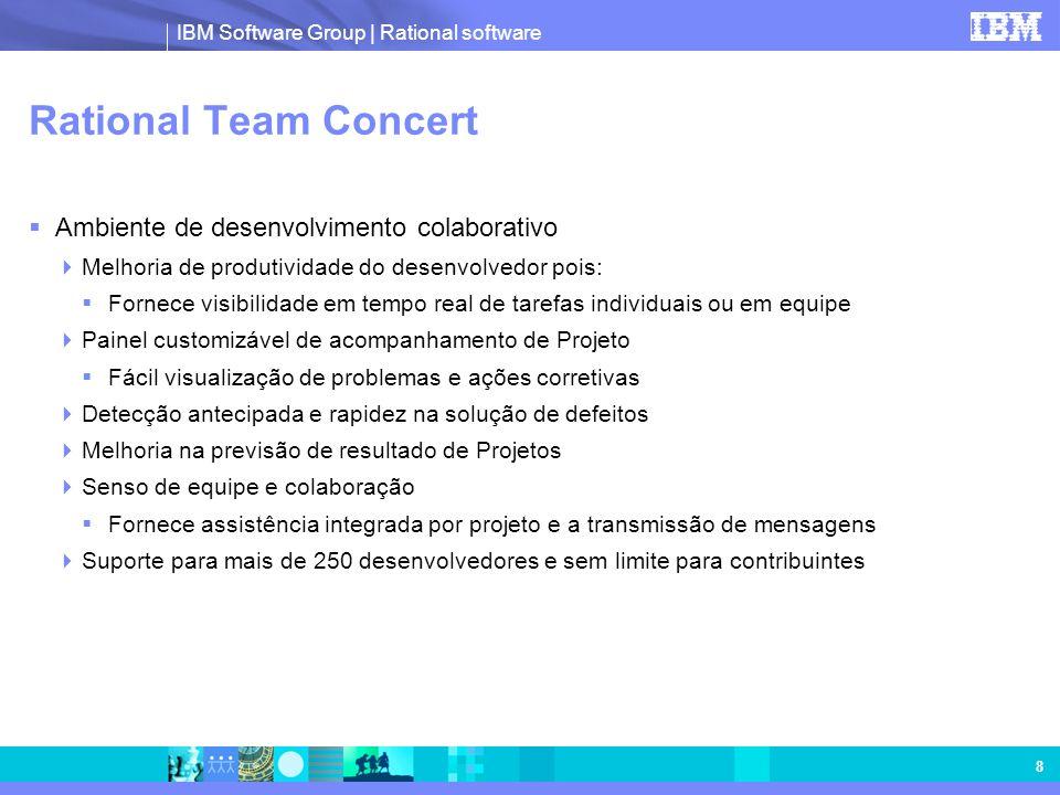 Rational Team Concert Ambiente de desenvolvimento colaborativo
