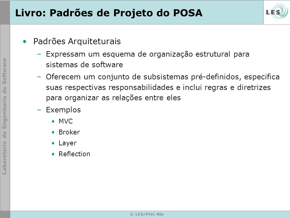 Livro: Padrões de Projeto do POSA