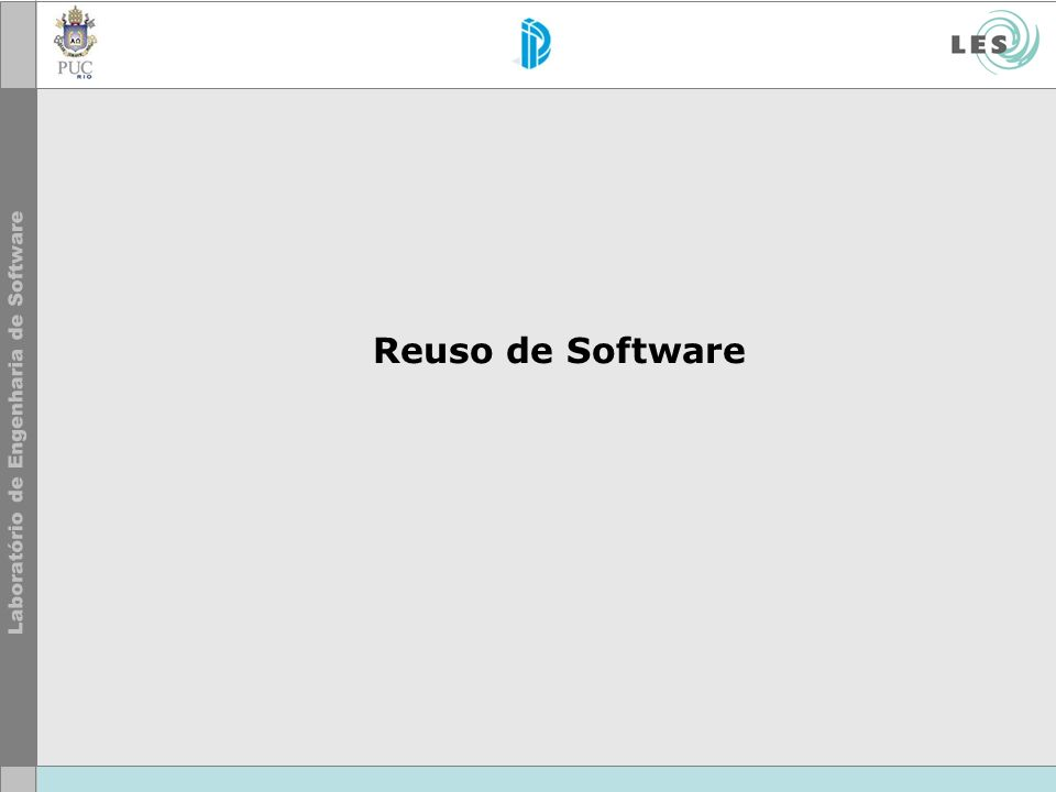 Reuso de Software