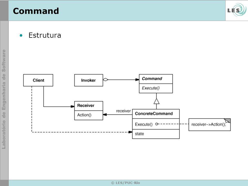 Command Estrutura © LES/PUC-Rio
