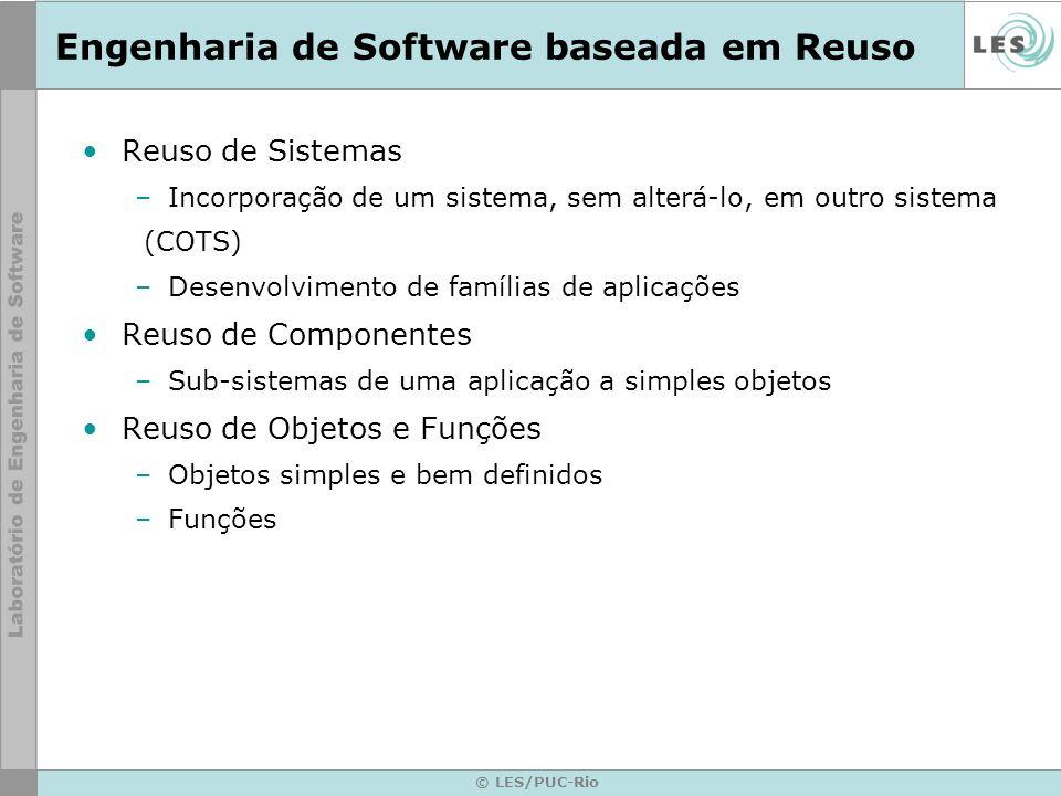 Engenharia de Software baseada em Reuso