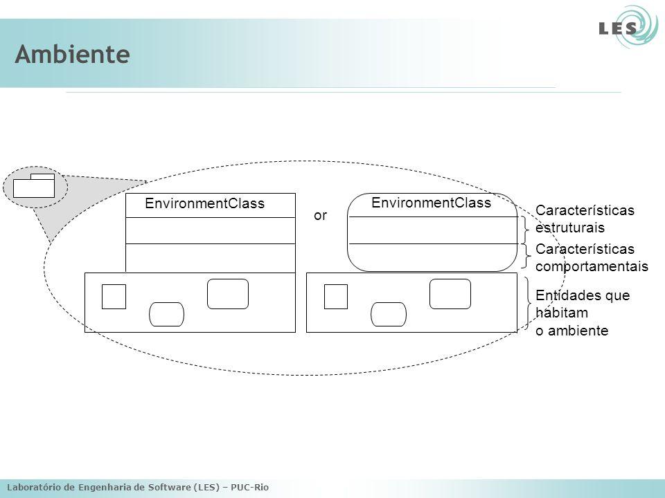 Ambiente EnvironmentClass EnvironmentClass Características or