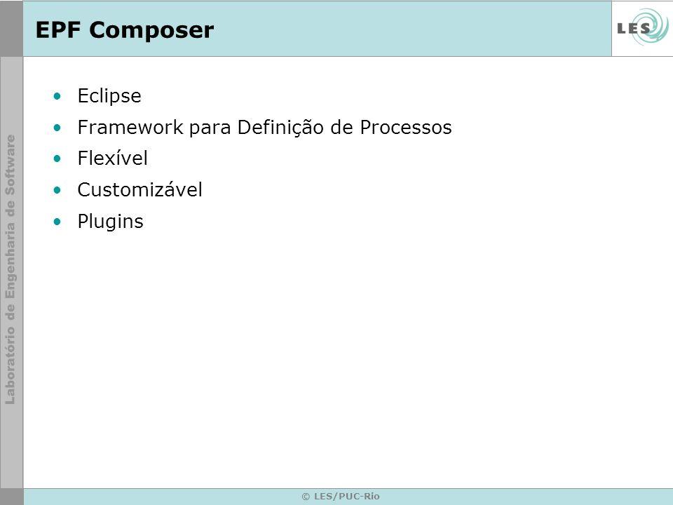 EPF Composer Eclipse Framework para Definição de Processos Flexível