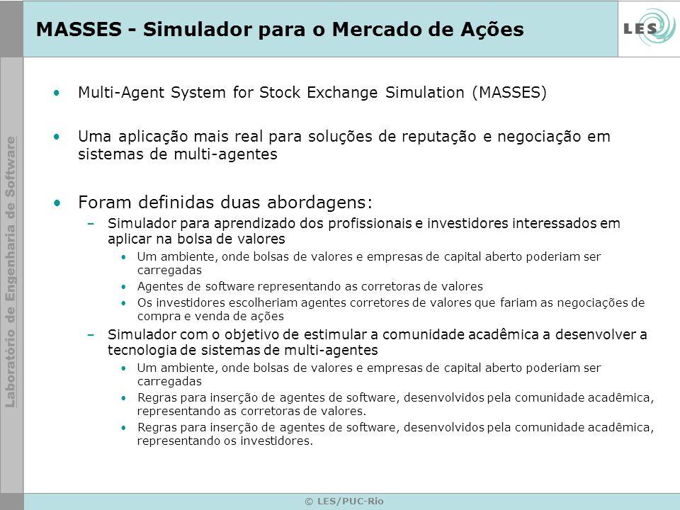 MASSES - Simulador para o Mercado de Ações