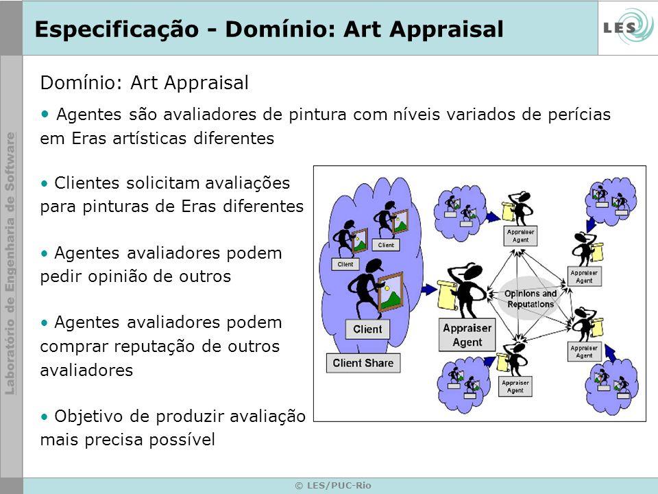 Especificação - Domínio: Art Appraisal