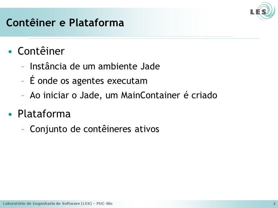 Contêiner e Plataforma