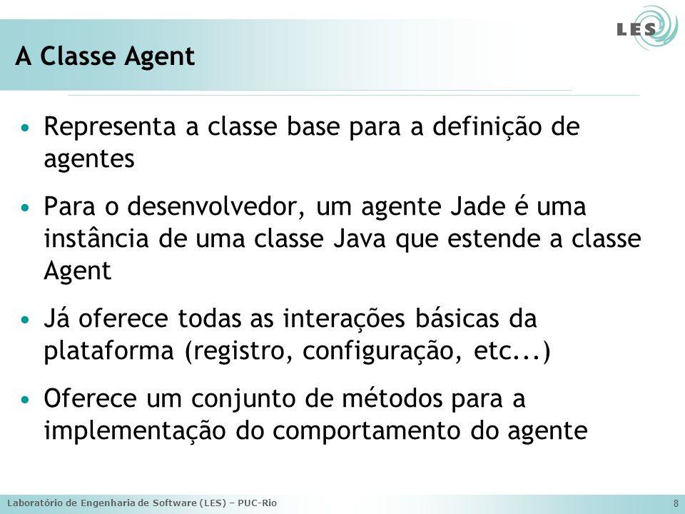 Representa a classe base para a definição de agentes