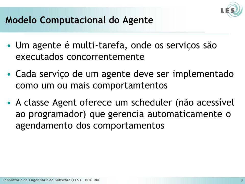 Modelo Computacional do Agente
