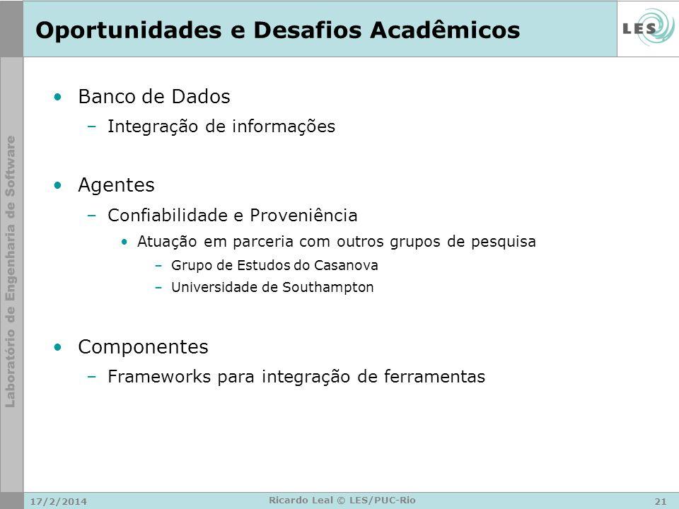Oportunidades e Desafios Acadêmicos