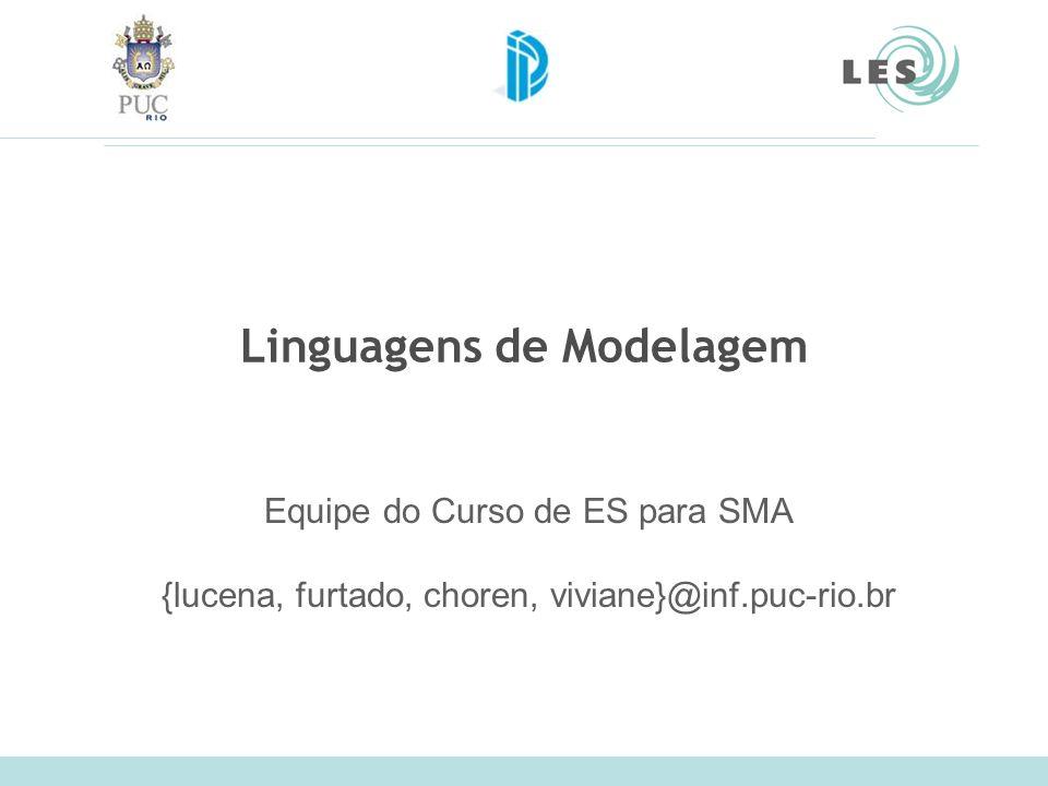 Linguagens de Modelagem