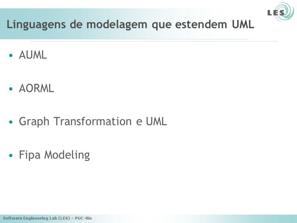 Linguagens de modelagem que estendem UML