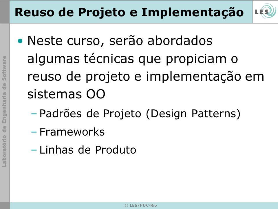 Reuso de Projeto e Implementação