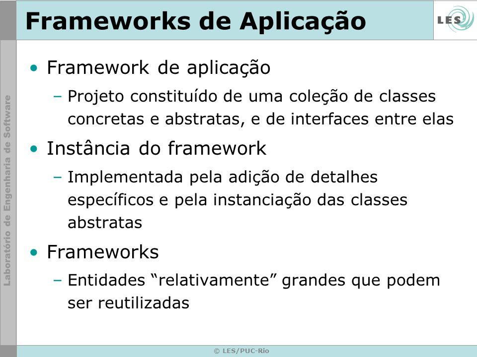 Frameworks de Aplicação