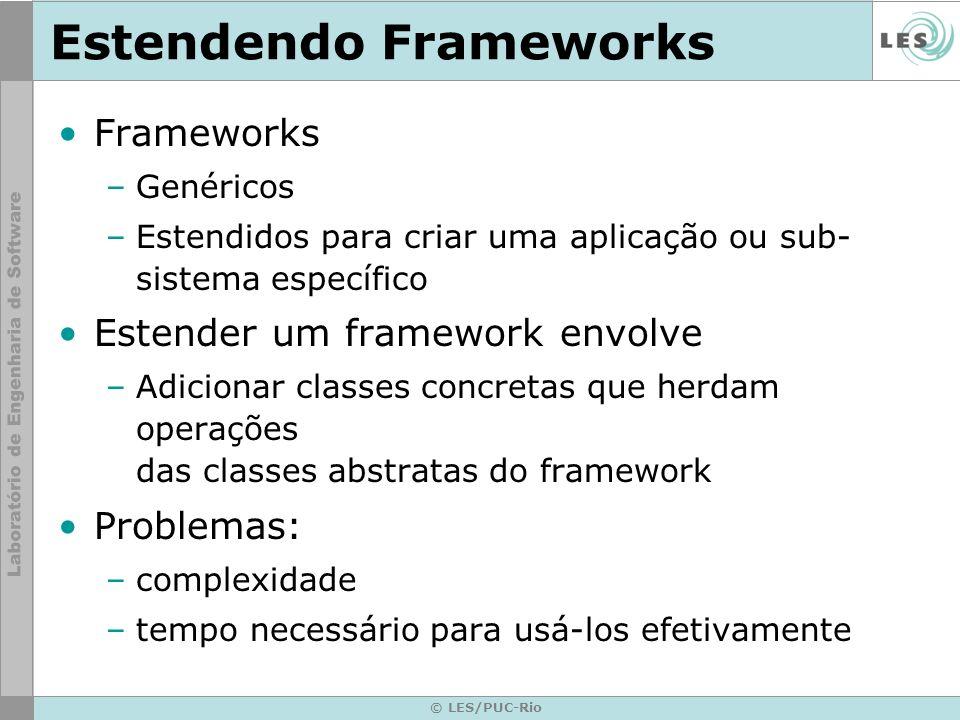 Estendendo Frameworks