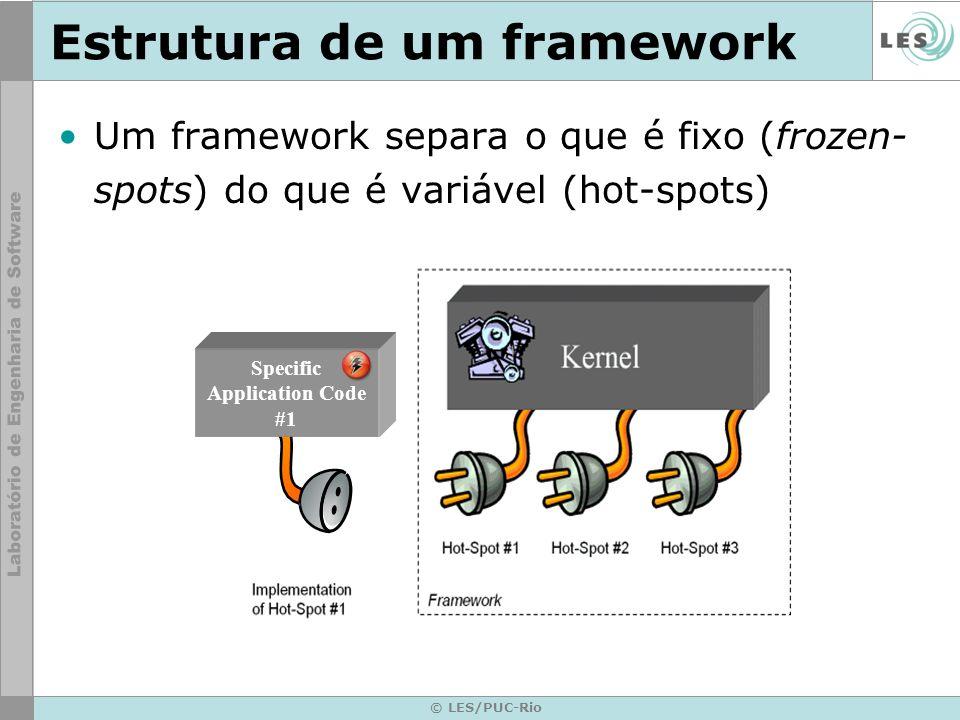 Estrutura de um framework