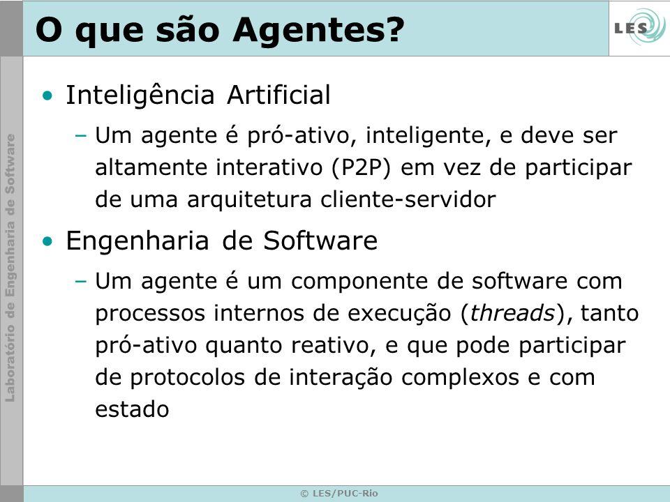 O que são Agentes Inteligência Artificial Engenharia de Software