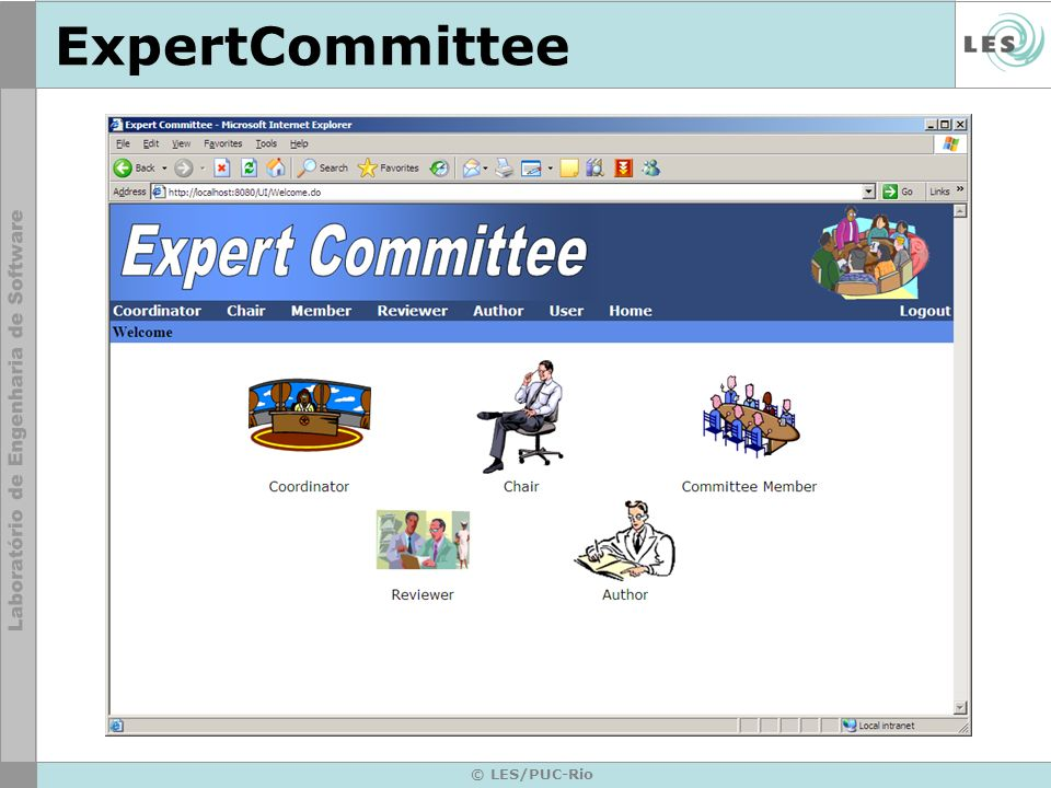 ExpertCommittee © LES/PUC-Rio