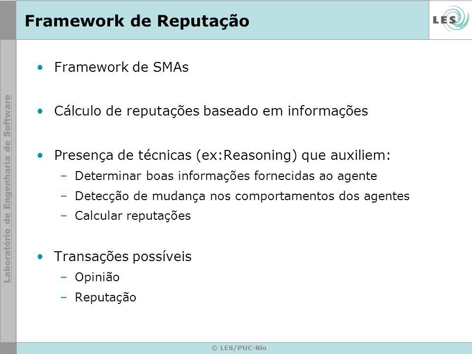 Framework de Reputação