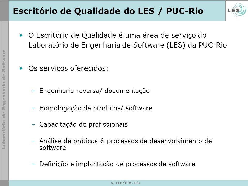 Escritório de Qualidade do LES / PUC-Rio