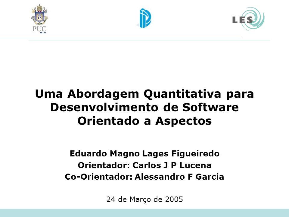 Uma Abordagem Quantitativa para Desenvolvimento de Software Orientado a Aspectos